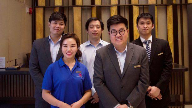 Burlington Hotel Staff Team